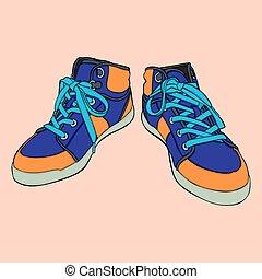 aislado, shoes