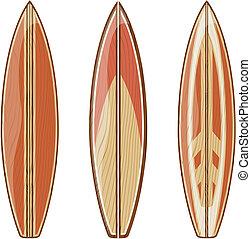 aislar, tablas de surf