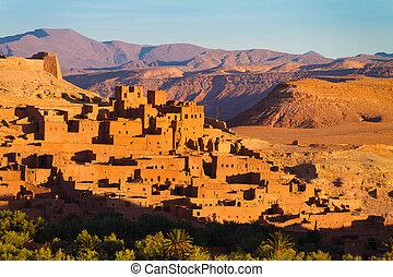 ait benhaddou, ouarzazate, morocco.