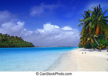 Aitutaki Dream - The lagoon meets the sea