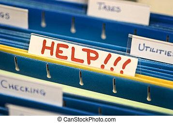 aiuto, archivio appende