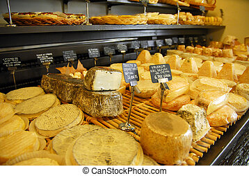 Aix en Provence - A French cheese shop in Aix or...