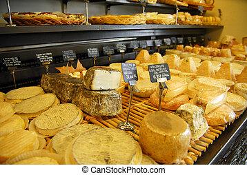 Aix en Provence - A French cheese shop in Aix or Aix-en-...