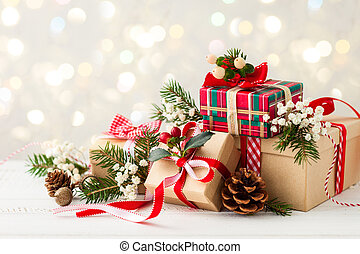 ajándékoz, karácsony