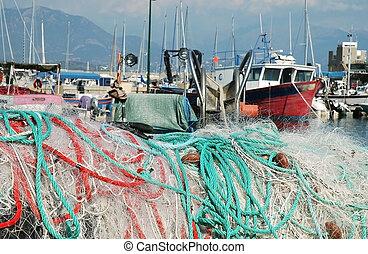 Ajaccio harbor, Corsica
