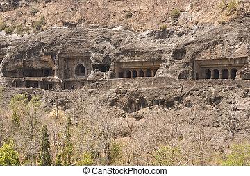 Ajanta Cave Temples - Ancient Buddhist Rock temples at ...