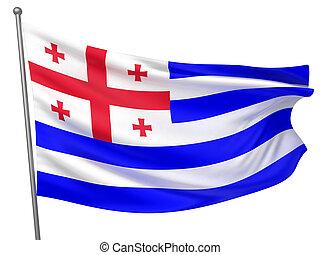 Ajaria National Flag