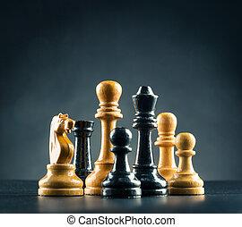 ajedrez, figuras