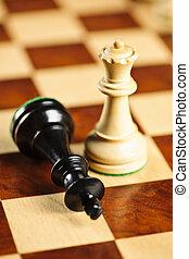 ajedrez, jaque mate