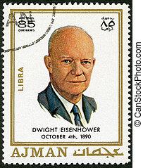 ajman, (1890-1969), -, eisenhower, dávid, dwight, 1970:, látszik