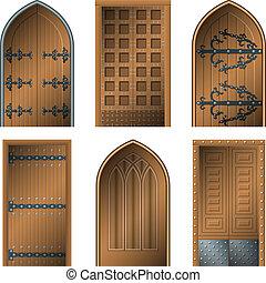 ajtó, évek, középső