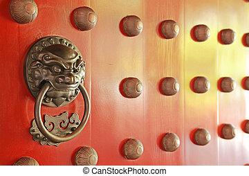 ajtó, kínai