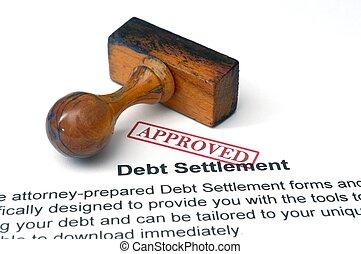 ajuste, -, aprovado, dívida