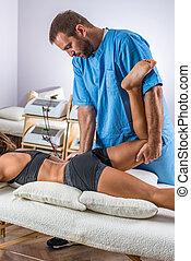 ajustement, chiropraxie