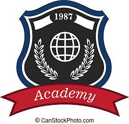 akademie, emblem
