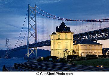 Akashi Bridge - Akashi Kaikyo Bridge and Sun Wen Memorial ...