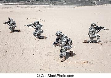 akció, infantrymen