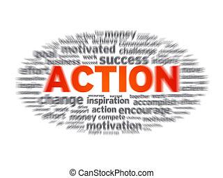 akció