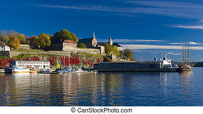 akershus forteresse, oslo, norvège