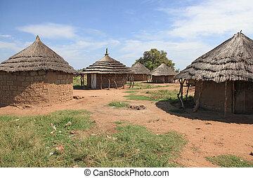 Aketa Camp / Village, Uganda, Africa - Aketa Camp / Village...