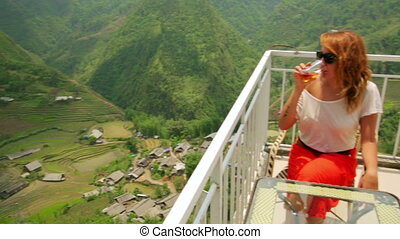 Akha villages in Sapa, Vietnam, Magnificent Rice Terrace