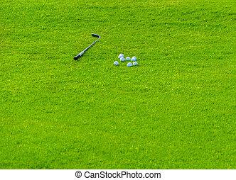 akker, golf, achtergrond
