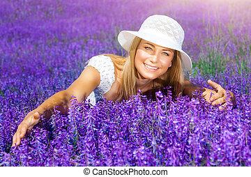 akker, het genieten van, bloem