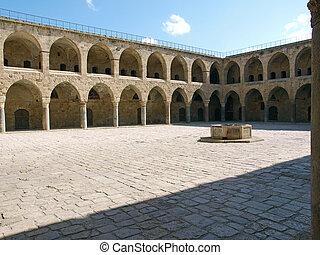 Akko Acre Israel Khan Al-Umdan Ottoman landmark