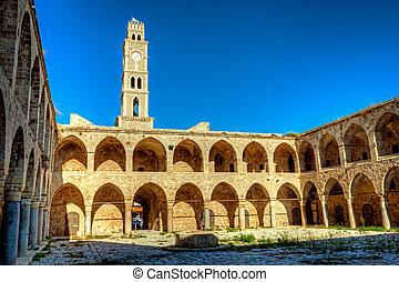 Akko landmark - Han El-Umdan