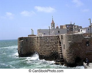 Akko Ottoman Turkish Sea Walls - Ottoman Turkish Sea Walls...