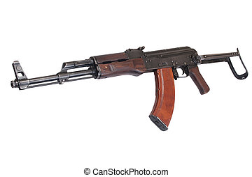 AKMS (Avtomat Kalashnikova) airborn version of Kalashnikov assault rifle