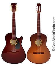 akoestische guitars