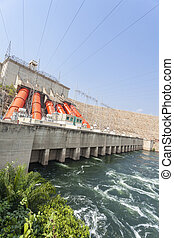 Hydroelectric Power Station - Akosombo Hydroelectric Power ...