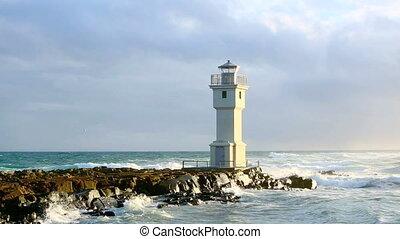 akranes, latarnia morska, port