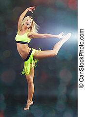 akrobatisk, dans