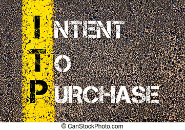 akronym, kaufen, absicht, itp, geschaeftswelt
