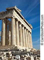 akropolis, parthenon