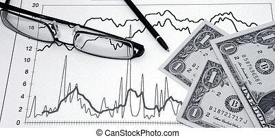 aktier, handlende
