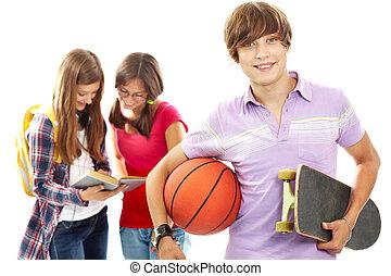 aktivál, tizenéves