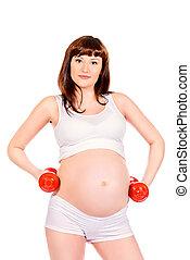 aktive, schwanger