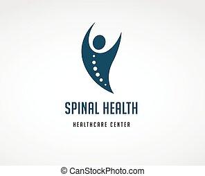 akupunktura, ból, wstecz, osteopatia, masaż, ikona