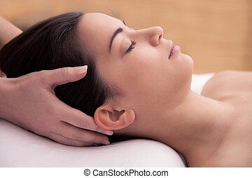 akupunktura, głowa, traktowanie