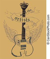 akustyczna gitara