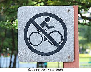 """aláír, jelentés, """"bicycle, vannak, nem ad, here"""""""