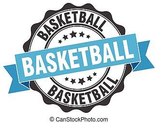 aláír, kosárlabda, bélyeg, fóka