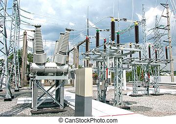 alállomás, villamos energia
