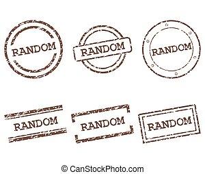aléatoire, timbres