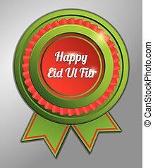 al , πράσινο , eid, fitr, σήμα , κόκκινο