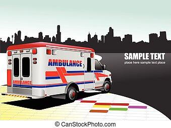 al-0743, krankenwagen