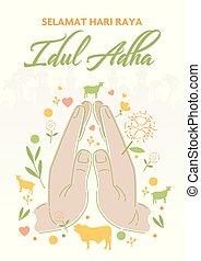 al, adha, eid, mubarak, celebración